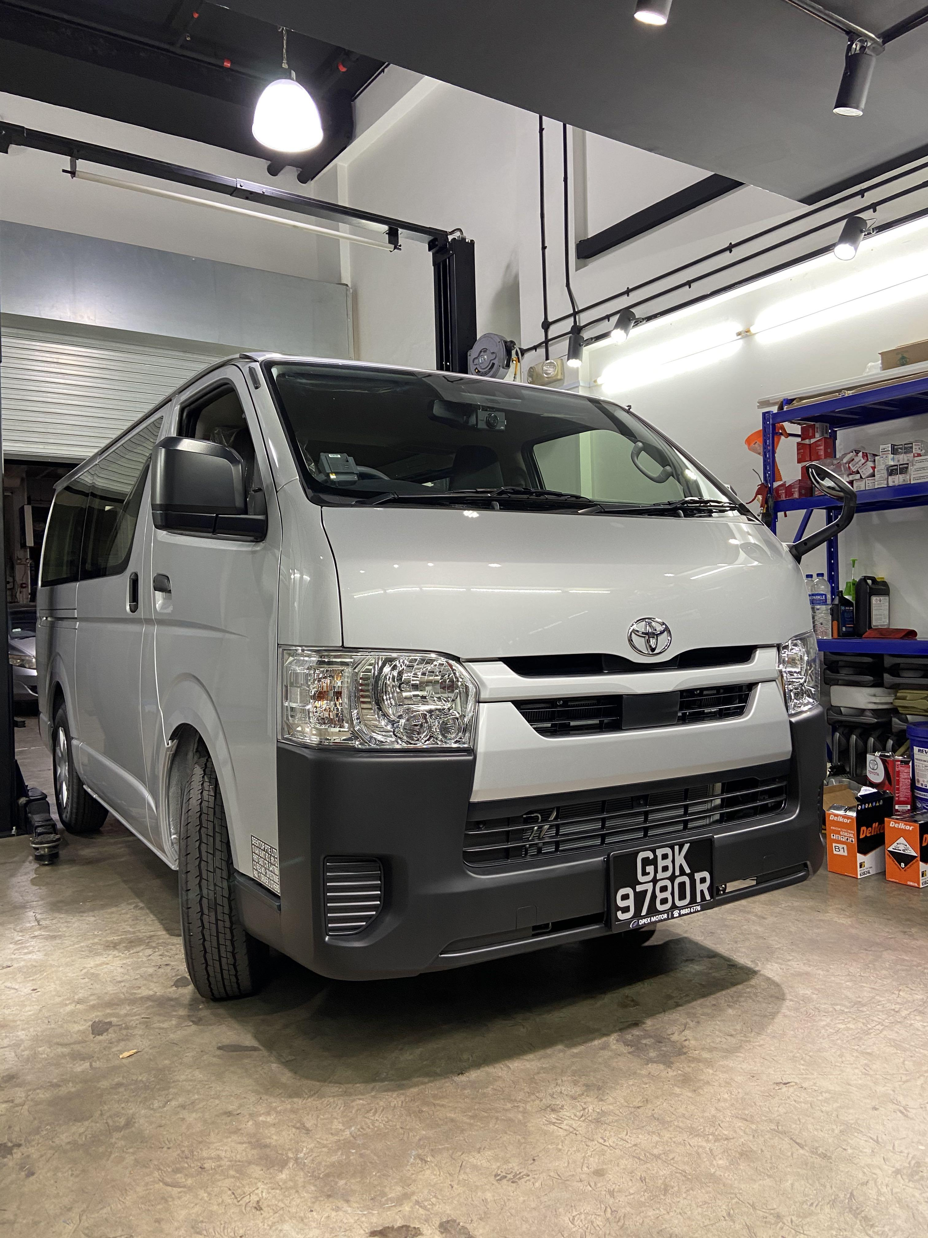 Brand new hiace for rent