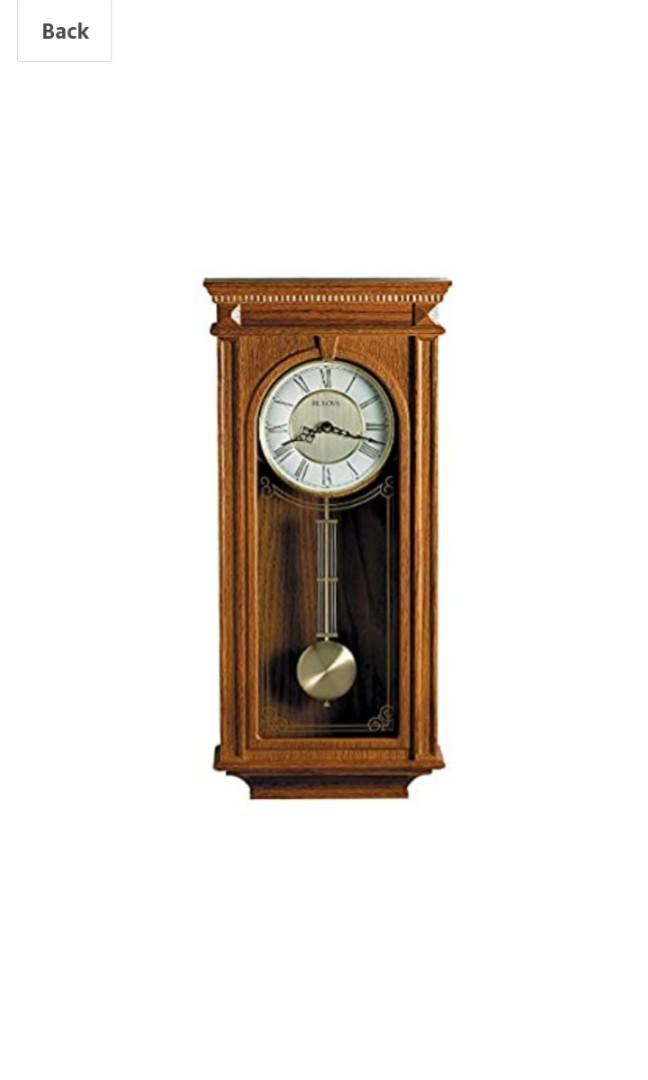 Bulova Westminster QUARTZ Mini Grandfather clock