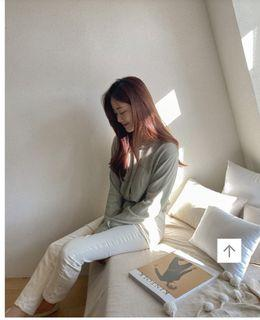 Cream完美比例奶油白褲 jeans (off white) W/S