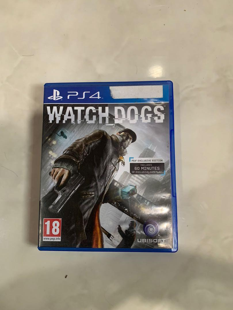 kaset ps 4 watch dogs