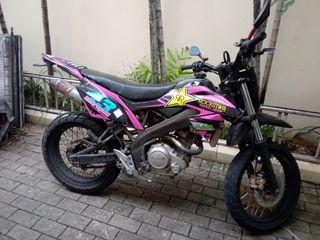 Motor vixion custom trail 2012