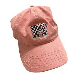 MTV Music Television Pink Baseball Cap