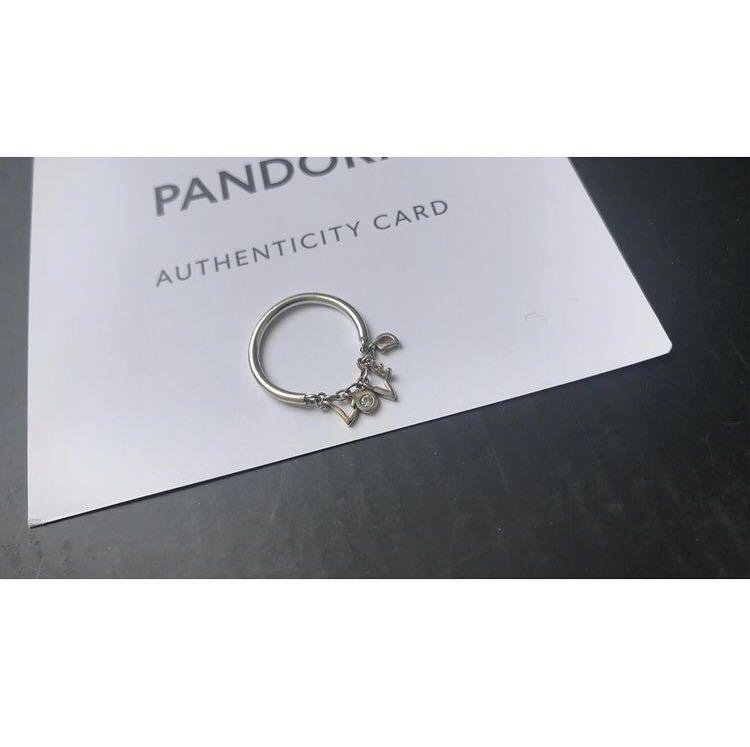 Pandora Loved Script Ring