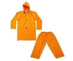 Pants and jacket raincoat PVC