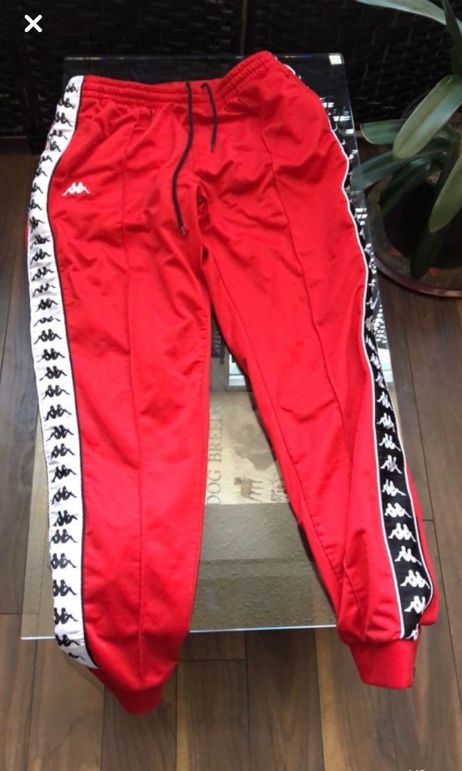 Red Kappa Pants