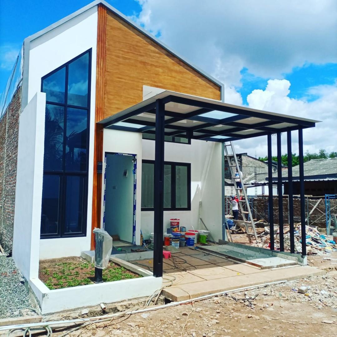 Rumah minimalis baru suasana nyaman dan asri di Bintara Jaya Bekasi Barat