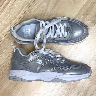 Silver DC Sneakers