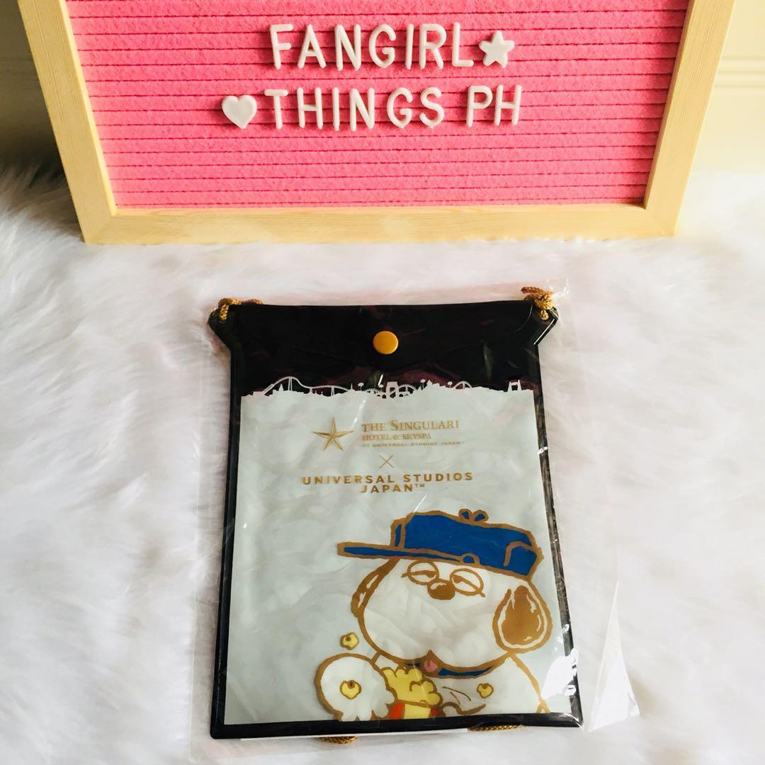 Universal Studios Character Transparent Mini Bag