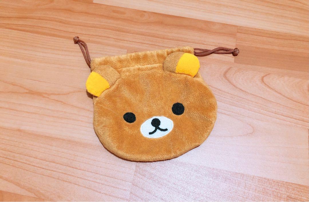 拉拉熊/束口袋/小袋/隨身/收納