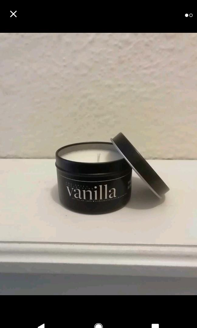 4 oz Vanilla Soy Candle