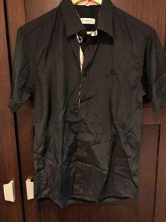黑色襯衫(格紋M號)