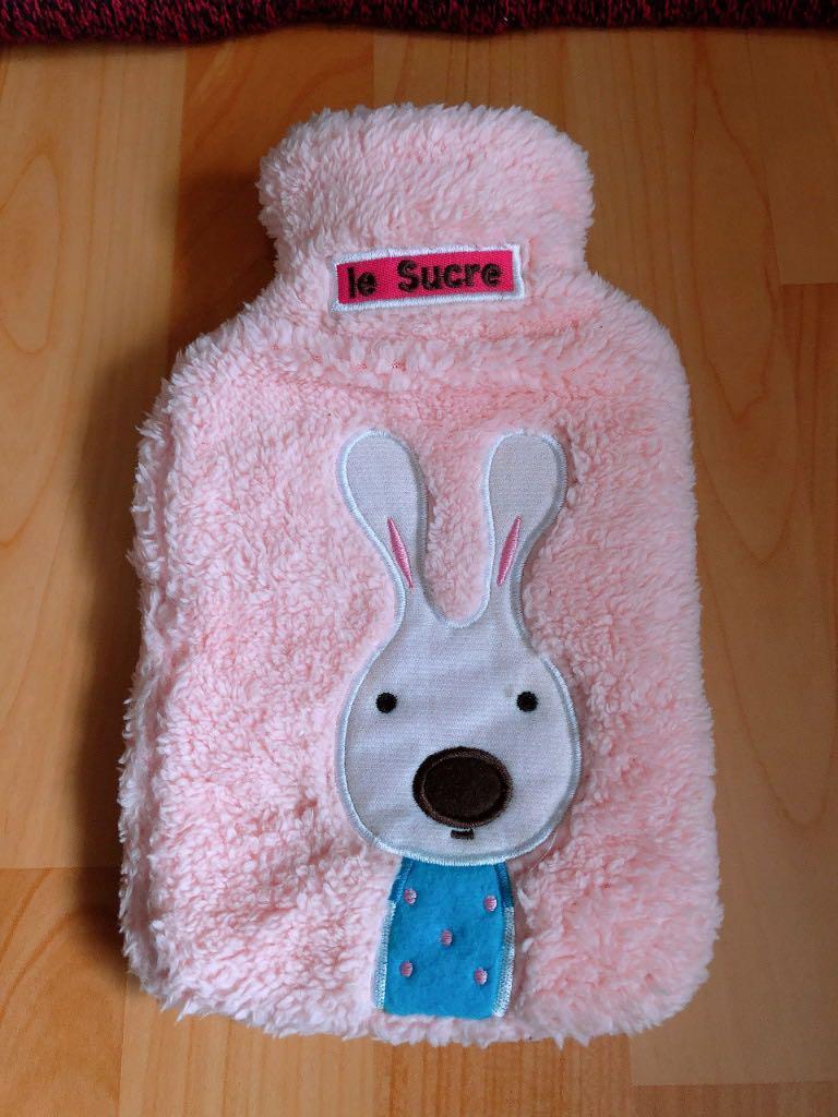 熱水袋/生理期/舒適/毛料/小兔兔