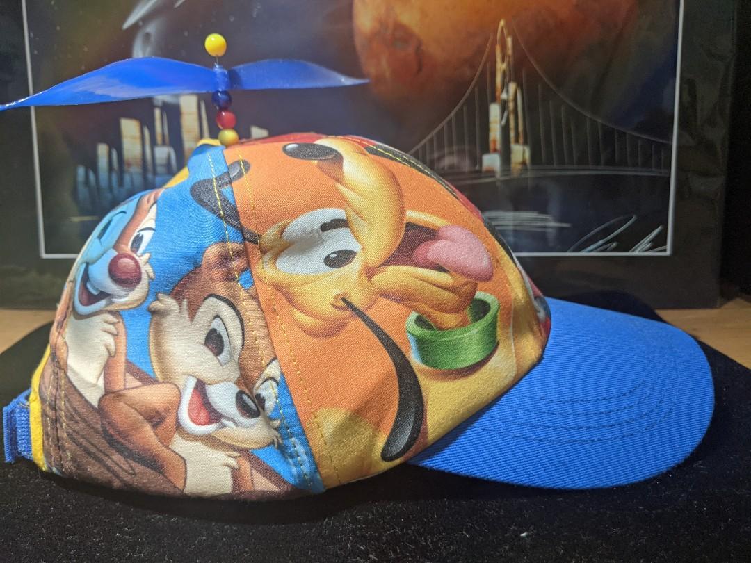 全新正版迪士尼帽子 米奇 高飛 唐老鴨 布魯托 奇奇蒂蒂   竹蜻蜓 Disney LA