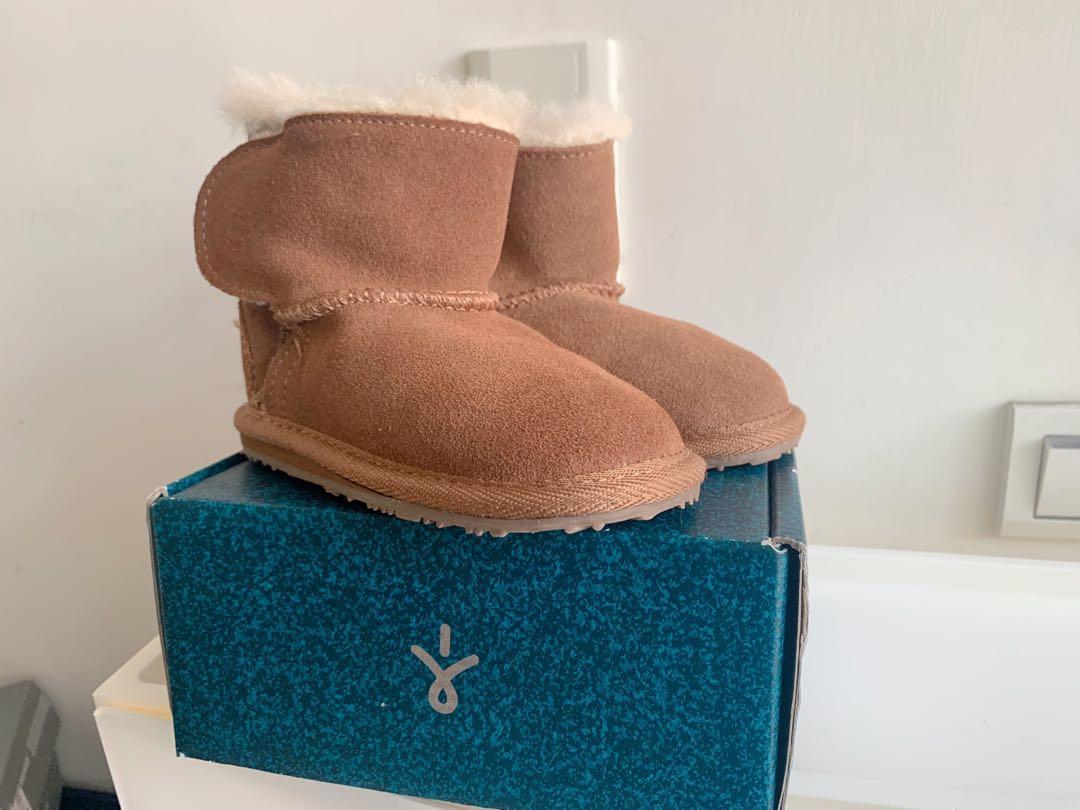全新 澳洲 emu 幼兒 羊毛靴  童鞋