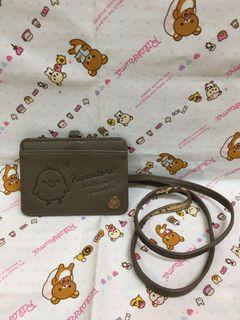 日本 san-x 拉拉熊 懶懶熊 小雞證件套 名片套 二手