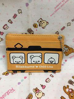 日本 san-x 拉拉熊 懶懶熊 證件套 名片套 二手