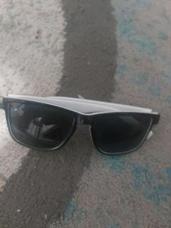 Black and white glasses