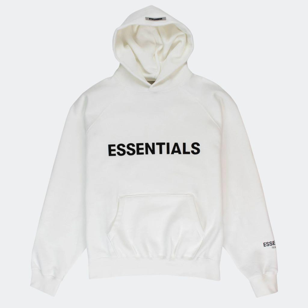 BNIP White Essentials Fear of God 3M Hoodie