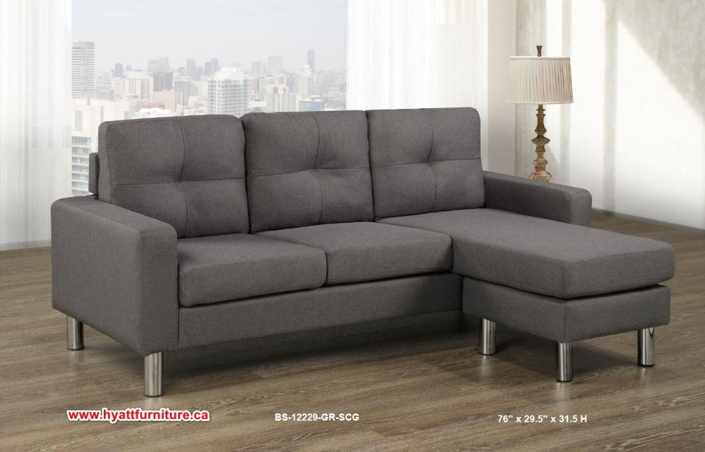 Brand new All 2 pcs Sectional Sofa & Chaise only $498
