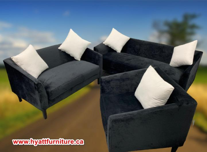 Brand new All 3 pcs Fabric Sofa Set only $798