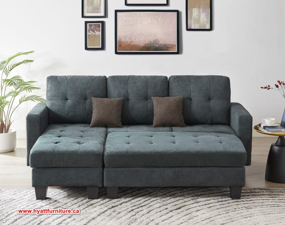Brand new Fabric Sectional w/Ottoman only $688