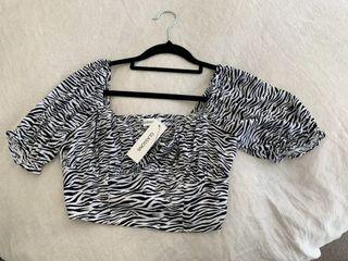 Brand new glassons top with tags