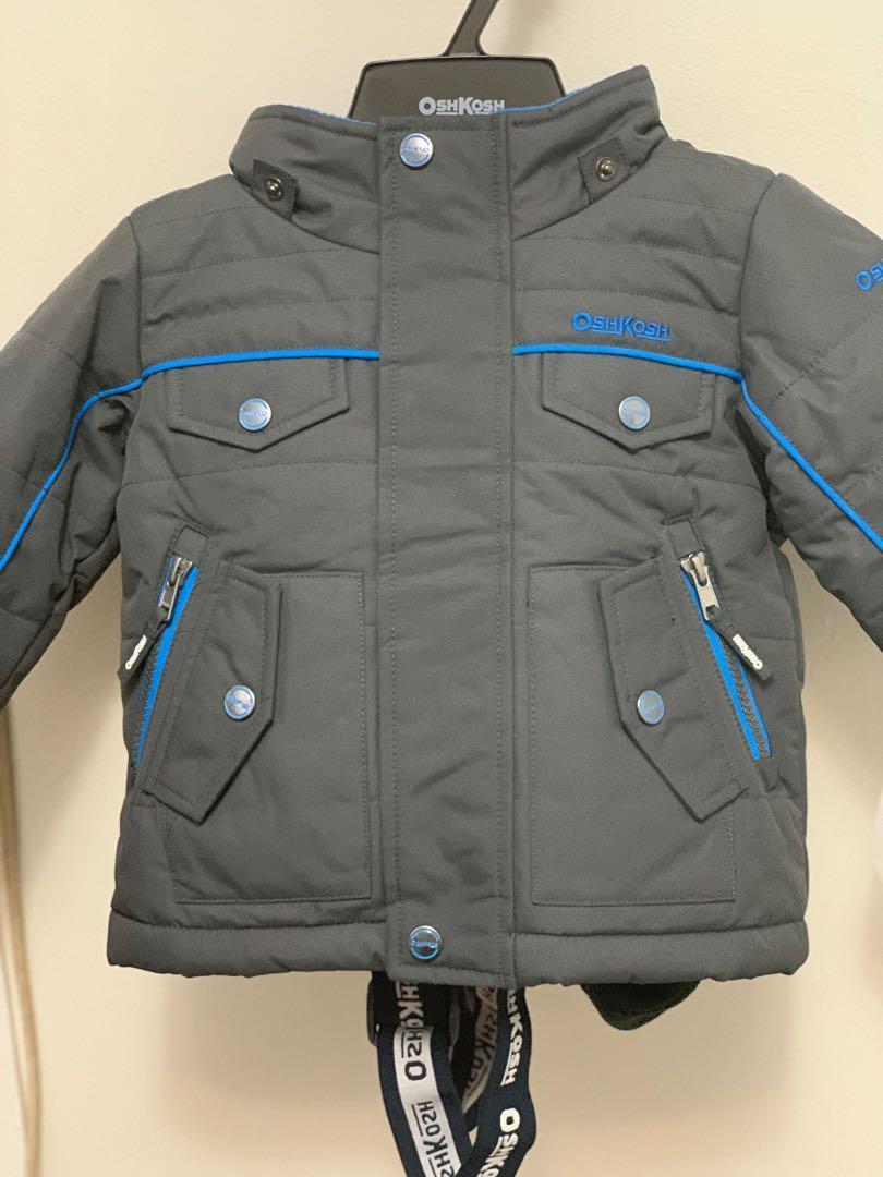Brand new Oshkosh infant boys 4 piece snowsuit set 12m