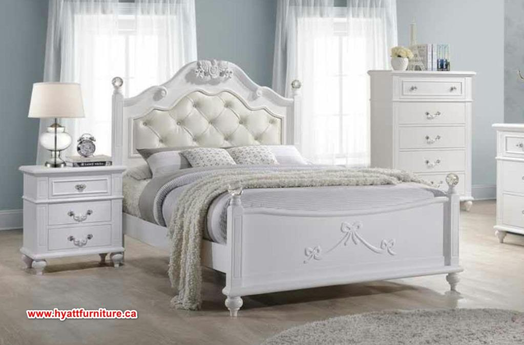 Brand new Solid Wood Princess Double Bed only $698