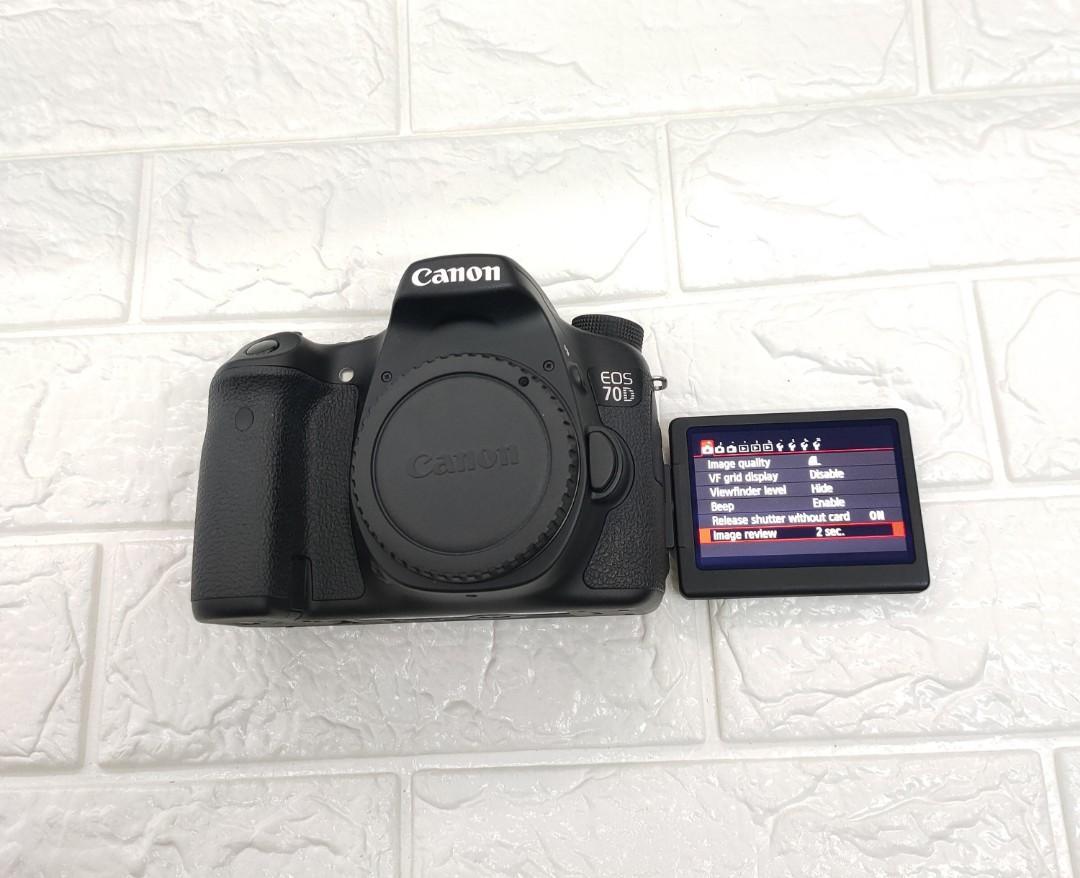 Canon 70D Body Dslr Camera