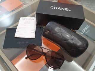 Chanel aviator sunglasses authentic complete receipt