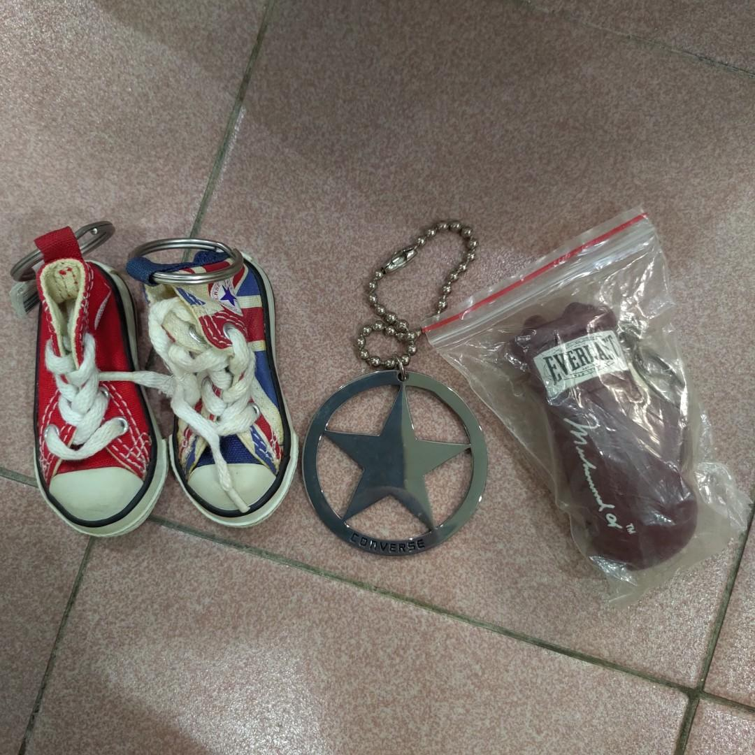 Converse & Everlast Authentic Keychain, Toys & Games, Action ...