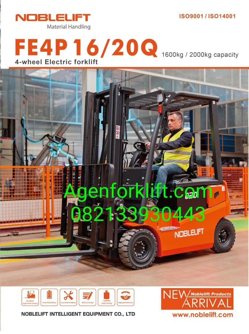 Forklift Elektrik Merk Noblelift