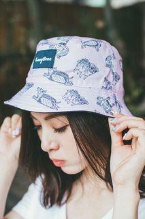 LazyBone Happy Puppies Hat 雙面漁夫帽