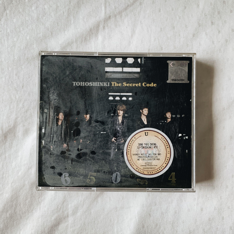 [ORIGINAL] Tohoshinki 東方神起 Secret Code Album
