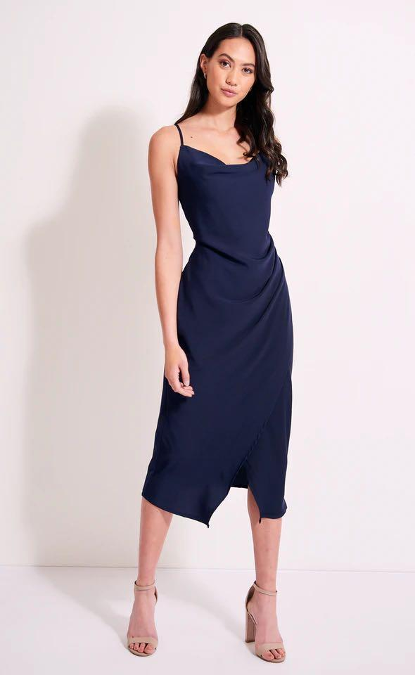 Pagani navy ball dress