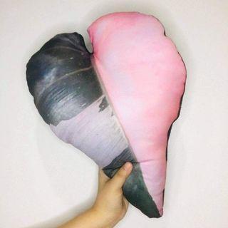 Pink Princess Philodendron Throw Pillow Alocasia