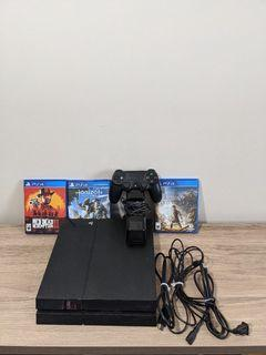 PS4 Bundle - Includes 3 Games, Controller, Charging Dock and Cables