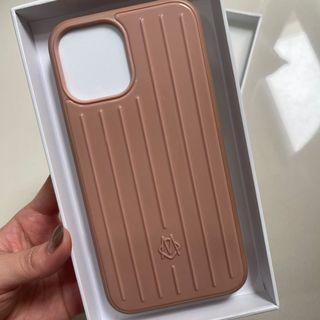 Rimowa手機殼 IPhone12 pro max 沙漠玫瑰粉