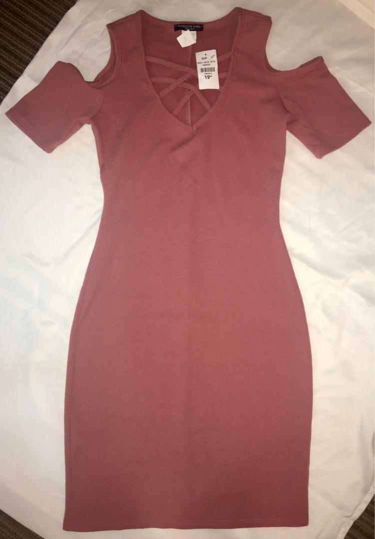 Urban Planet Rose Body-con Dress