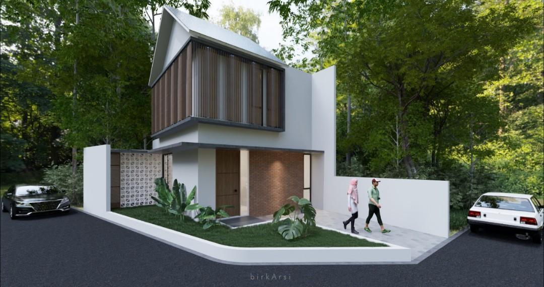 Rumah Baru 3 Kamar Dekat Pintu Tol Cijago di Depok