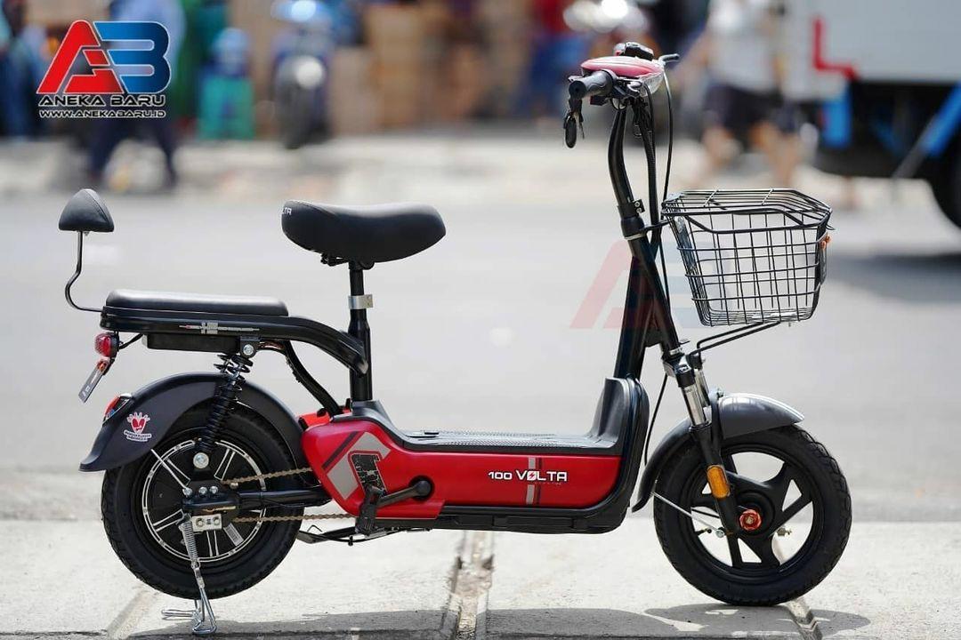 Sepeda Listrik Volta 100 New Bisa kredit Promo DP cukup 200 ribu