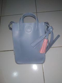 Sling bag blue by Minisio