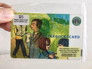 Starbucks Old Logo Gift Card (2007) 👔