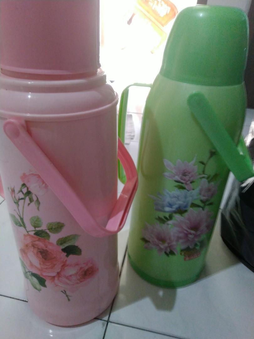 Termos Pink 2 liter ( hijau sold)