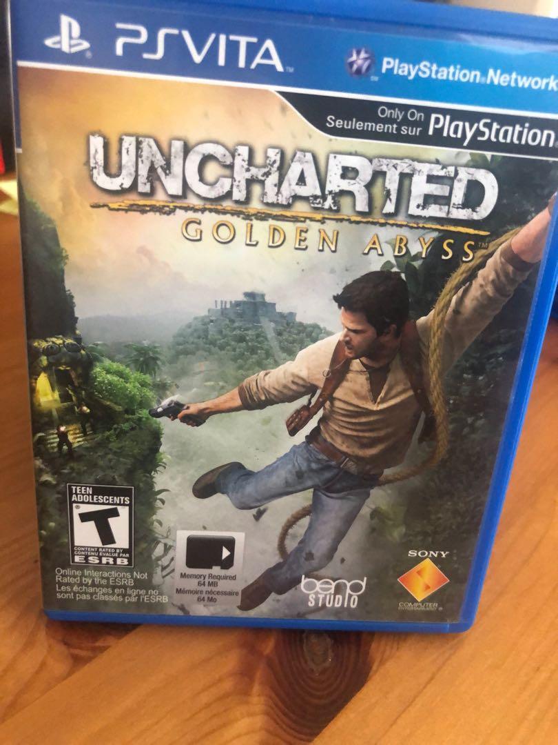 Uncharted Golden PS Vita