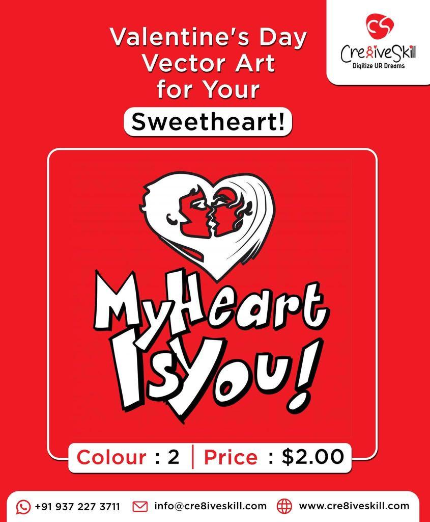 Vector Art: My Heart Is You