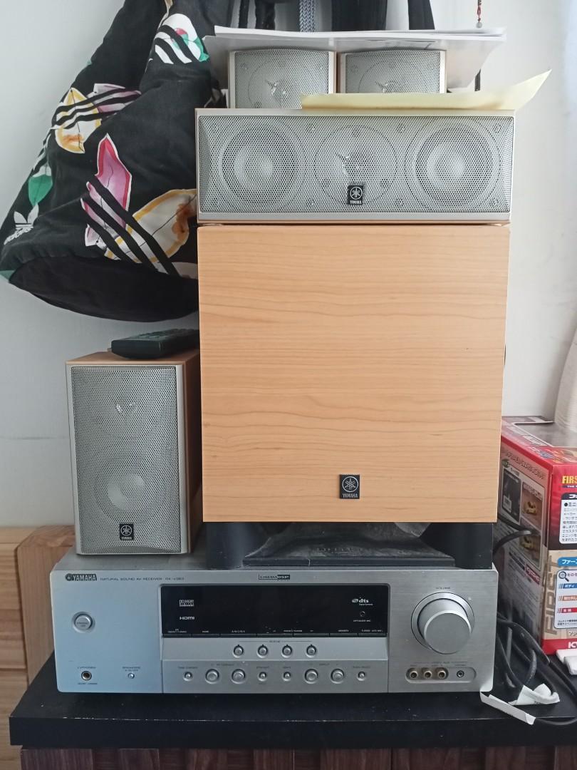 Yamaha rx-v363 擴大機音響系統