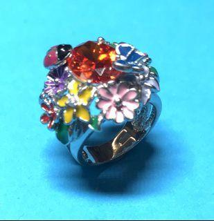 925 Silver Cubic Zirconia Ring