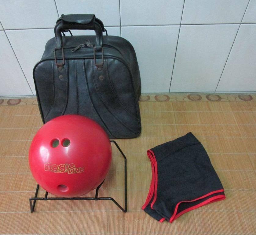 保齡球 + 球袋