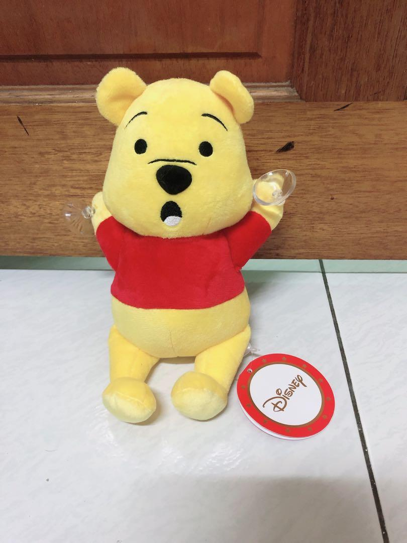 全新正版迪士尼小熊維尼 pooh 吸盤娃娃 玩偶